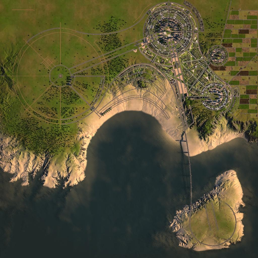 Cities XL level screen